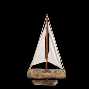 Holzboot Sylt klein Treibholz
