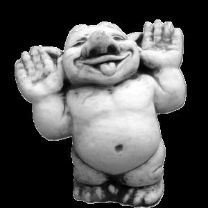 Troll Hände hoch