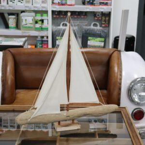 Holzboot Sylt groß Treibholz