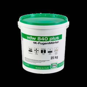 GftK vdw 840 Plus 1K-Fugenmörtel 25 kg-Eimer – NATUR/SAND