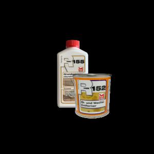 R152 Öl- und Wachsentferner – Paste 0,25 L + R155 Grundreiniger 0,5 L Set (S)