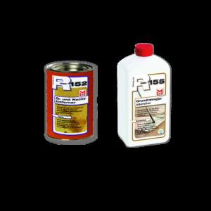 R152 Öl- und Wachsentferner – Paste 0,75 L + R155 Grundreiniger 1 L
