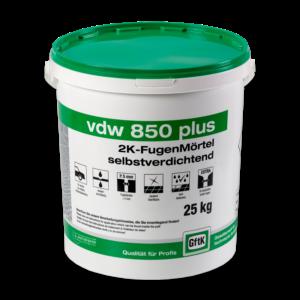 GftK vdw 850 Plus 2K-Fugenmörtel 25 kg-Eimer – NATUR/SAND