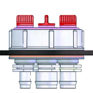 Absperrventil 3 Wege – Druckflussregulierung