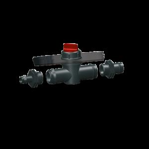 Absperrventil 1/2 & 3/4 Zoll – Druckflussregulierung