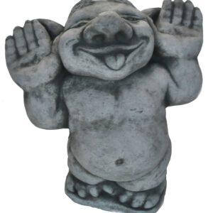 """Betonfigur Troll """"Finger im Ohr"""""""
