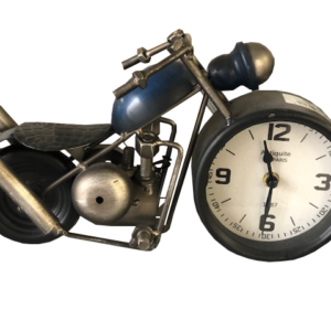 Motorrad Uhr Chopper 32×10,5×10 cm