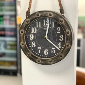 Uhr mit Seil Dave S (20 cm)