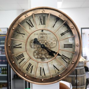 Uhr Virginia Gold L (60cm Ø)