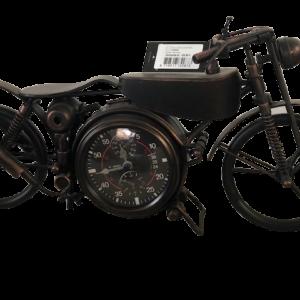 Motorrad Tisch-Uhr Harley 14x44x23 cm