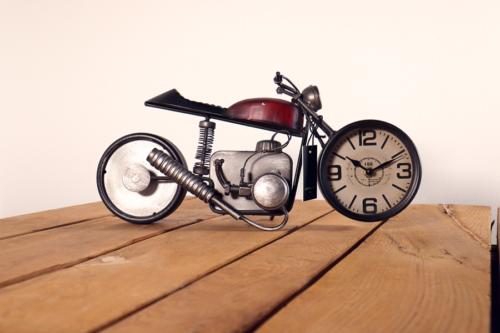 Motorrad aus Aluminium