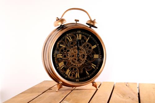 Uhr L Wecker vintage retro style